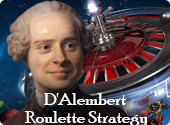 D'Alembert Roulette Strategy