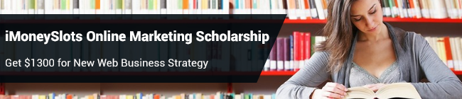 iMoneySlots Online Marketing Scholarship