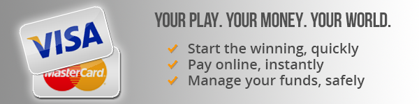 Pay Online Casino with Visa or Mstercard Deposit Option